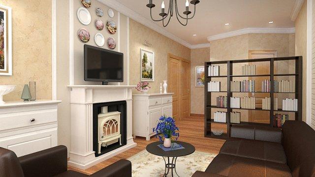 Дизайн проект квартиры на ул. бабушкинская.